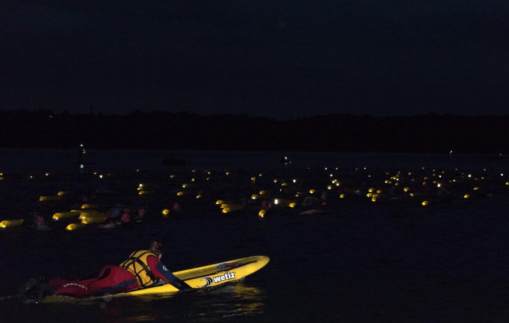 Vollmondschwimmen im Simssee